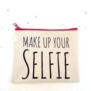 'Make Up Your Selfie' Make Up Bag