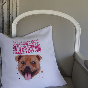 Personalised Dog Cushion Cover - pet-lover