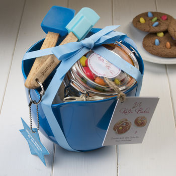 Blue Artisan Cookie Mix Baking Gift Set