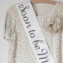 Personalised Bride To Be Liberty Print Sash