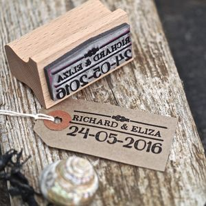 Nautical Wedding Favour Stamp - wedding favours