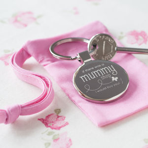'If There Was A Mummy Shop' Keyring - womens