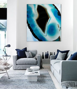 A Minds Eye, Canvas Art - modern & abstract