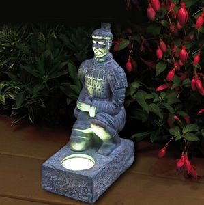 Terracotta Warrior Solar Garden Light - lighting