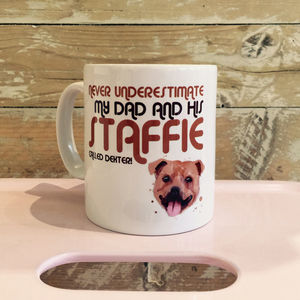 Daddy's Dog Mug - mugs
