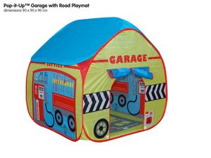 Garage Pop Up Tent With Floorprint - toys & games