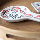 Personalised Spoon Rest