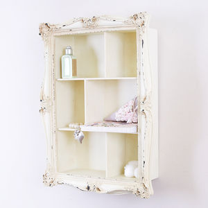 Period French Wall Cabinet - furniture