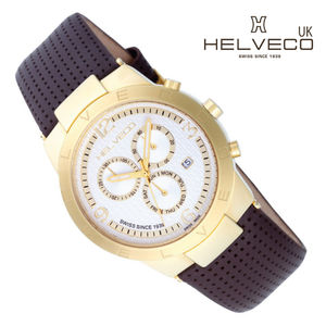 Constance Gold Ip Unisex Chronograph Watch - women's jewellery