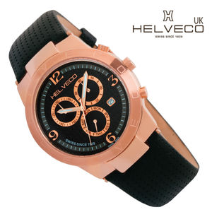 Constance Rose Gold Ip Unisex Chronograph Watch - watches