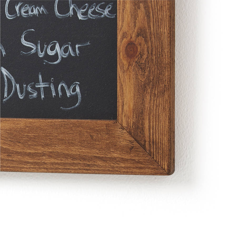Old Wood Framed Chalkboard Blackboard By Horsfall Amp Wright