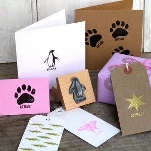 Personalised Child's Stamp - cards & wrap