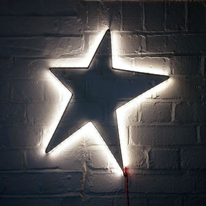 Star Contemporary Wall Light - furnishings & fittings