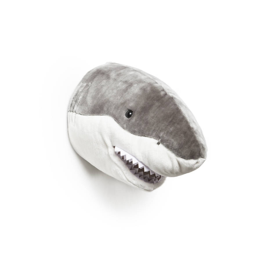 Animal heads for sale jack the shark plush animal head amipublicfo Gallery
