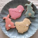 Personalised Easter Biscuits Set