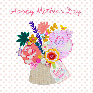 Personalised Mother's Day Greeting Card