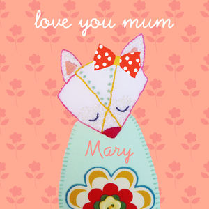 'I Love You Mum' Happy Mother's Day Card