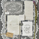 Whimsical Wonderland On The Day Wedding Stationery