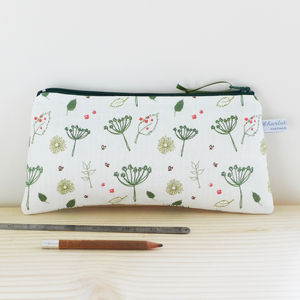 Long Countryside Zip Pouch