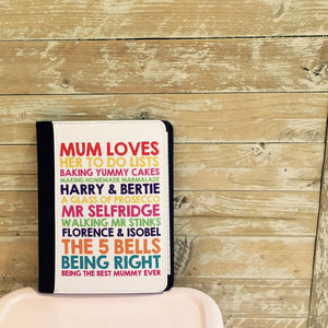 Personalised Large Notebook