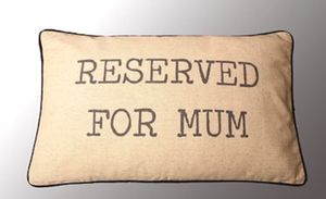 Mum Cushion - patterned cushions