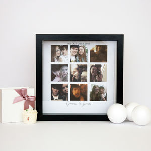 Personalised Couples Collage Print