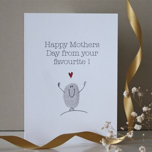 Mothers Day Favourite Card