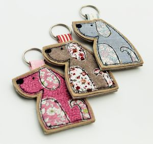 Dog Key Ring - womens