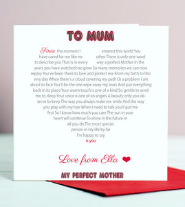 Poem For Mum Card - view all mother's day gifts