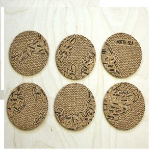 British Isle Cork Coasters