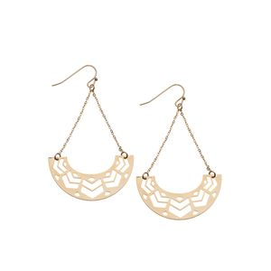 Cut Out Swing Earrings