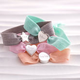 Personalised Pastel Stretch Bead Bracelet - gifts for her