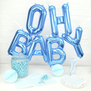 'Oh Baby' Baby Shower Balloons