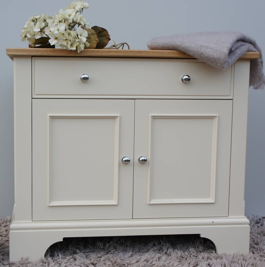 baslow slimline sideboard in choice of colours and size by