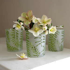 Fern Candle Holder Or Vase - vases