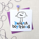 'Bestest Boyfriend' Birthday/ Anniversary Card