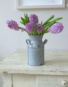 Vintage Style Decorative Milk Churn - pots & planters