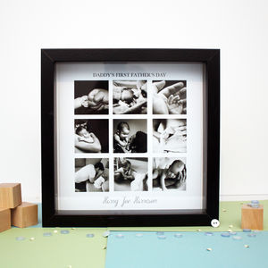 Personalised Fathers Day Collage Print