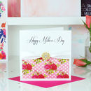 Tropical Print Mothers Day Card