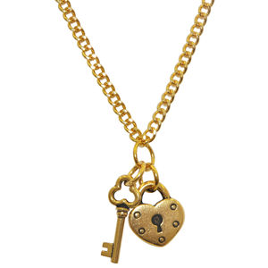 Dollydagger Key To My Heart Necklace