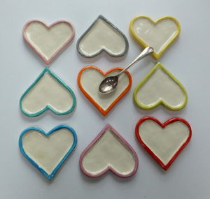 Heart Shaped Spoon Rest - storage & organising