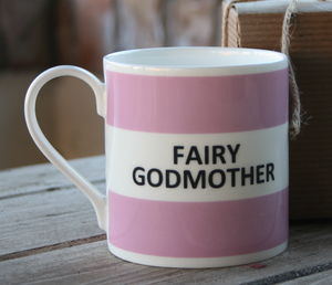'Fairy Godmother' Fine Bone China Mug - gifts for godparents