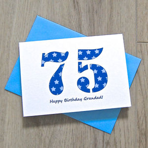 Printed Age Card - cards & wrap sale