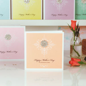 Venice Style Personalised Mothers Day Card