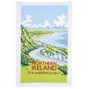 Kelly Hall Northern Ireland Cotton Tea Towel