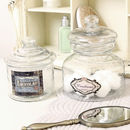 Set Of Decorative Vintage Glass Jars
