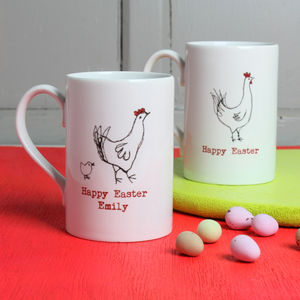 Personalised Easter Chick Mug - mugs