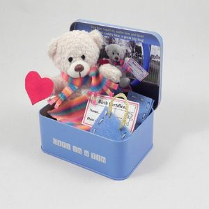 Make Your Own Cuddly Bear In A Tin