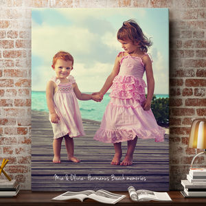 Personalised Photo Canvas - children's pictures & paintings