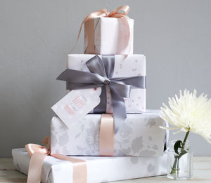 Luxury Pastel Gift Wrap Sheets